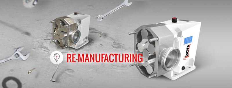 Re-manufacturing of components