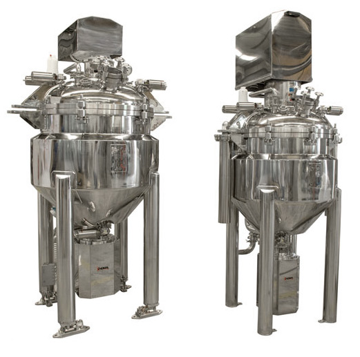 Reactors for preparation of medicinal products